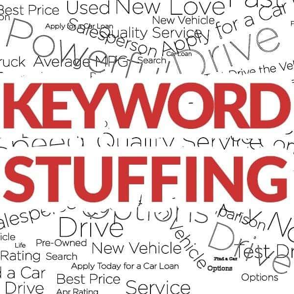 Qué es keyword stuffing y cómo evitarlo