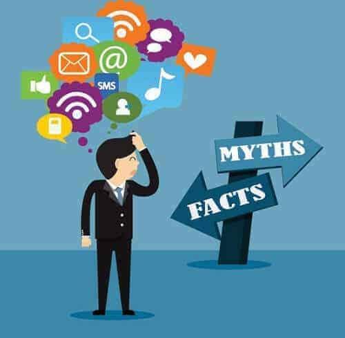 Acaba con los mitos de las RRSS