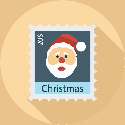 icono feliz navidad