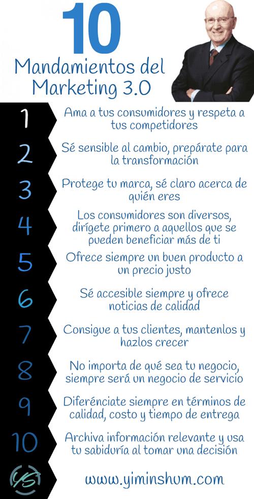 Qué es el marketing 3 infografía