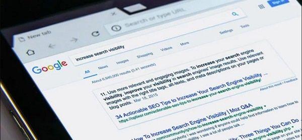 factores de posicionamiento en Google 2020